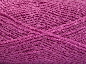 Fiber Content 50% Acrylic, 50% Wool, Lavender, Brand Ice Yarns, Yarn Thickness 4 Medium Worsted, Afghan, Aran, fnt2-58190
