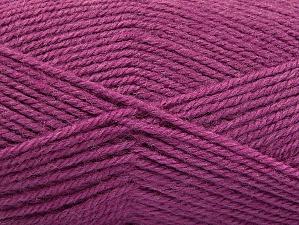 Fiber Content 50% Wool, 50% Acrylic, Orchid, Brand Ice Yarns, Yarn Thickness 4 Medium Worsted, Afghan, Aran, fnt2-58191