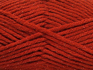 Fiber Content 72% Premium Acrylic, 3% Metallic Lurex, 25% Wool, Brand Ice Yarns, Copper, Yarn Thickness 5 Bulky  Chunky, Craft, Rug, fnt2-58201