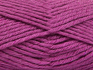 Fiber Content 72% Premium Acrylic, 3% Metallic Lurex, 25% Wool, Orchid, Brand Ice Yarns, Yarn Thickness 5 Bulky  Chunky, Craft, Rug, fnt2-58204