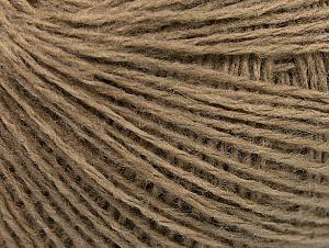 Fiber Content 50% Wool, 50% Acrylic, Brand Ice Yarns, Camel, Yarn Thickness 2 Fine  Sport, Baby, fnt2-58293