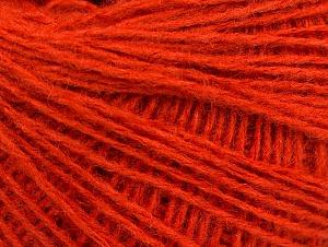 Fiber Content 50% Acrylic, 50% Wool, Orange, Brand Ice Yarns, Yarn Thickness 2 Fine  Sport, Baby, fnt2-58303