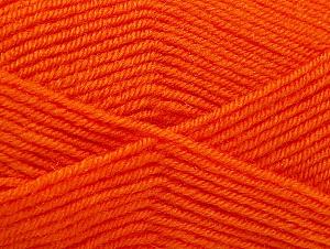 Fiber Content 60% Acrylic, 40% Wool, Light Orange, Brand Ice Yarns, Yarn Thickness 3 Light  DK, Light, Worsted, fnt2-58336