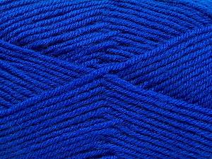 Fiber Content 60% Acrylic, 40% Wool, Brand Ice Yarns, Blue, Yarn Thickness 3 Light  DK, Light, Worsted, fnt2-58344