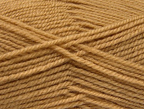 Fiber Content 50% Wool, 50% Acrylic, Brand Ice Yarns, Cafe Latte, Yarn Thickness 4 Medium  Worsted, Afghan, Aran, fnt2-58370