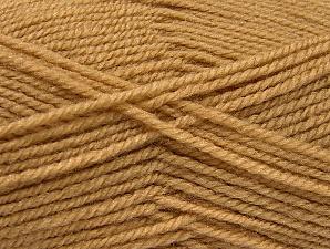 Fiber Content 50% Wool, 50% Acrylic, Brand Ice Yarns, Cafe Latte, Yarn Thickness 4 Medium Worsted, Afghan, Aran, fnt2-58370