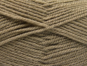 Fiber Content 50% Wool, 50% Acrylic, Brand Ice Yarns, Camel, Yarn Thickness 4 Medium  Worsted, Afghan, Aran, fnt2-58371