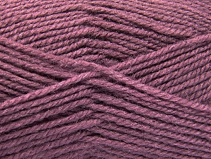 Fiber Content 50% Wool, 50% Acrylic, Lavender, Brand Ice Yarns, Yarn Thickness 4 Medium  Worsted, Afghan, Aran, fnt2-58381