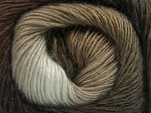 Fiber Content 60% Premium Acrylic, 20% Alpaca, 20% Wool, Brand Ice Yarns, Brown Shades, Yarn Thickness 2 Fine  Sport, Baby, fnt2-58396