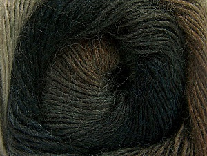 Fiber Content 60% Premium Acrylic, 20% Wool, 20% Alpaca, Brand Ice Yarns, Brown Shades, Anthracite, Yarn Thickness 2 Fine  Sport, Baby, fnt2-58397
