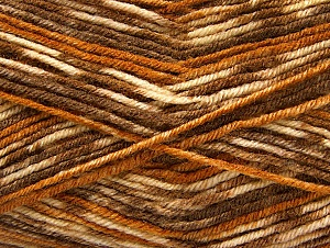 Fiber Content 75% Acrylic, 25% Wool, Brand Ice Yarns, Brown Shades, Yarn Thickness 3 Light  DK, Light, Worsted, fnt2-58423