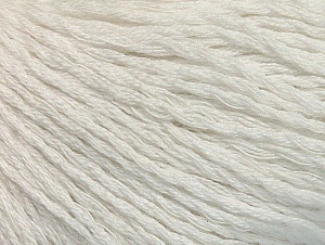 Fiber Content 40% Bamboo, 35% Cotton, 25% Linen, White, Brand Ice Yarns, Yarn Thickness 2 Fine  Sport, Baby, fnt2-58462