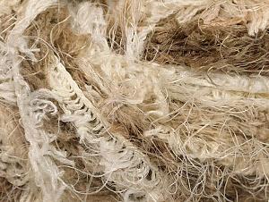Fiber Content 100% Polyamide, Brand Ice Yarns, Cream, Brown Shades, Yarn Thickness 6 SuperBulky Bulky, Roving, fnt2-58555