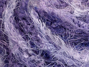 Fiber Content 100% Polyamide, Lilac Shades, Brand Ice Yarns, Yarn Thickness 6 SuperBulky  Bulky, Roving, fnt2-58556