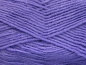 Fiber Content 50% Wool, 50% Acrylic, Lilac, Brand Ice Yarns, Yarn Thickness 4 Medium Worsted, Afghan, Aran, fnt2-58562
