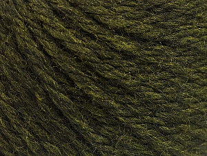 Fiber Content 60% Acrylic, 40% Wool, Brand Ice Yarns, Dark Green, Yarn Thickness 6 SuperBulky  Bulky, Roving, fnt2-58569