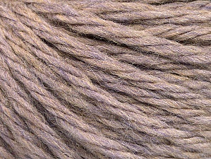 Fiber Content 60% Acrylic, 40% Wool, Lilac Melange, Brand Ice Yarns, Yarn Thickness 6 SuperBulky  Bulky, Roving, fnt2-58572
