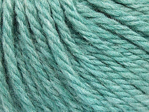 Fiber Content 60% Acrylic, 40% Wool, Light Turquoise, Brand Ice Yarns, Yarn Thickness 6 SuperBulky  Bulky, Roving, fnt2-58574
