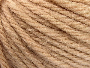 Fiber Content 60% Acrylic, 40% Wool, Brand Ice Yarns, Cafe Latte, Yarn Thickness 6 SuperBulky  Bulky, Roving, fnt2-58683