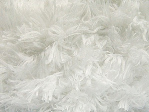 Fiber Content 100% Micro Fiber, White, Brand Ice Yarns, Yarn Thickness 6 SuperBulky  Bulky, Roving, fnt2-58804