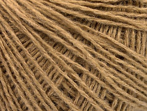 Fiber Content 50% Wool, 50% Acrylic, Brand Ice Yarns, Cafe Latte, Yarn Thickness 2 Fine  Sport, Baby, fnt2-58866