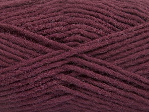 Fiber Content 100% Wool, Maroon, Brand Ice Yarns, Yarn Thickness 5 Bulky  Chunky, Craft, Rug, fnt2-58885
