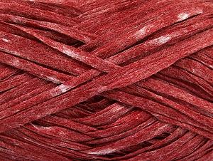 Fiber Content 50% Polyester, 50% Viscose, Red Melange, Brand Ice Yarns, fnt2-58897