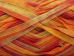 Fiber Content 100% Polyamide, Yellow, Salmon, Light Green, Brand Ice Yarns, Yarn Thickness 4 Medium  Worsted, Afghan, Aran, fnt2-58923