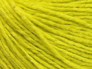 Fiber Content 50% Acrylic, 50% Wool, Neon Yellow, Brand Ice Yarns, Yarn Thickness 3 Light  DK, Light, Worsted, fnt2-58932