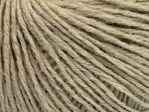 Fiber Content 50% Acrylic, 50% Wool, Brand Ice Yarns, Beige, Yarn Thickness 3 Light  DK, Light, Worsted, fnt2-58934