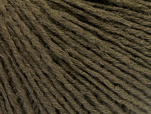 Fiber Content 50% Acrylic, 50% Wool, Brand Ice Yarns, Dark Khaki, Yarn Thickness 3 Light  DK, Light, Worsted, fnt2-58935