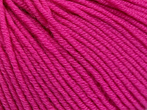 SUPERWASH MERINO EXTRAFINE is a DK weight, 100% extra fine Italian-style superwash merino wool making it extremely soft, as well as durable.  High twist and smooth texture gives unbelievable stitch definition making this a good choice for any project that you want to show off your stitch work. Projects knit and crocheted in SUPERWASH MERINO EXTRAFINE are machine washable! Lay flat to dry. Do not bleach. Do not iron Fiber Content 100% Superwash Extrafine Merino Wool, Pink, Brand Ice Yarns, Yarn Thickness 3 Light  DK, Light, Worsted, fnt2-58944