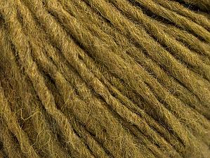 Fiber Content 50% Merino Wool, 25% Alpaca, 25% Acrylic, Khaki, Brand Ice Yarns, Yarn Thickness 4 Medium  Worsted, Afghan, Aran, fnt2-58949