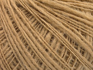 Fiber Content 50% Wool, 40% Acrylic, 10% Polyamide, Brand Ice Yarns, Cafe Latte, Yarn Thickness 2 Fine  Sport, Baby, fnt2-58966