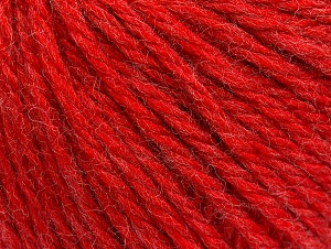 Fiber Content 60% Acrylic, 40% Wool, Red, Brand Ice Yarns, Yarn Thickness 6 SuperBulky  Bulky, Roving, fnt2-58990
