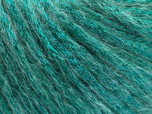 Fiber Content 70% Polyamide, 19% Merino Wool, 11% Acrylic, Brand Ice Yarns, Emerald Green, Yarn Thickness 4 Medium  Worsted, Afghan, Aran, fnt2-59036