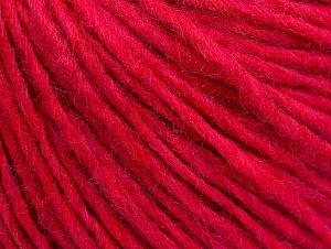 Fiber Content 50% Merino Wool, 25% Alpaca, 25% Acrylic, Brand Ice Yarns, Candy Pink, Yarn Thickness 4 Medium  Worsted, Afghan, Aran, fnt2-59041