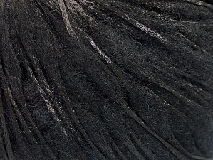 Fiber Content 50% Wool, 50% Polyamide, Brand Ice Yarns, Black, Yarn Thickness 3 Light  DK, Light, Worsted, fnt2-59044