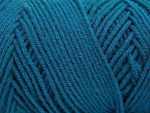 Items made with this yarn are machine washable & dryable. Fiber Content 100% Dralon Acrylic, Teal, Brand Ice Yarns, Yarn Thickness 4 Medium  Worsted, Afghan, Aran, fnt2-59113