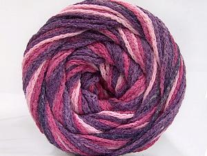 Fiber Content 50% Acrylic, 50% Polyamide, Purple, Pink Shades, Brand Ice Yarns, Yarn Thickness 5 Bulky  Chunky, Craft, Rug, fnt2-59346