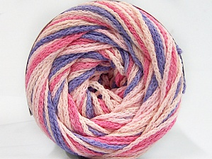 Fiber Content 50% Acrylic, 50% Polyamide, Pink Shades, Lilac, Brand Ice Yarns, Yarn Thickness 5 Bulky  Chunky, Craft, Rug, fnt2-59359