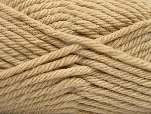 Fiber Content 100% Acrylic, Brand Ice Yarns, Cafe Latte, Yarn Thickness 6 SuperBulky  Bulky, Roving, fnt2-59735