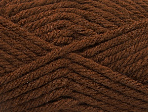 Fiber Content 100% Acrylic, Brand Ice Yarns, Brown, Yarn Thickness 6 SuperBulky  Bulky, Roving, fnt2-59737