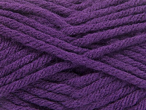 Fiber Content 100% Acrylic, Purple, Brand Ice Yarns, Yarn Thickness 6 SuperBulky  Bulky, Roving, fnt2-59738