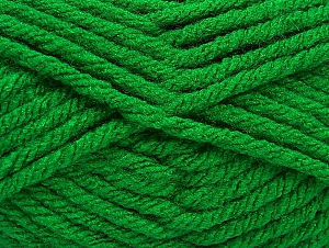 Fiber Content 100% Acrylic, Brand Ice Yarns, Green, Yarn Thickness 6 SuperBulky  Bulky, Roving, fnt2-59739