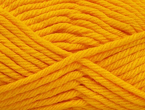 Fiber Content 100% Acrylic, Yellow, Brand Ice Yarns, Yarn Thickness 6 SuperBulky  Bulky, Roving, fnt2-59740