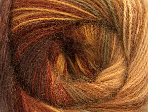 Fiber Content 60% Acrylic, 20% Angora, 20% Wool, Brand Ice Yarns, Brown Shades, Yarn Thickness 2 Fine  Sport, Baby, fnt2-59747