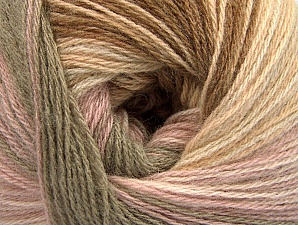 Fiber Content 60% Acrylic, 20% Angora, 20% Wool, Pink, Brand Ice Yarns, Camel, Brown Shades, Yarn Thickness 2 Fine  Sport, Baby, fnt2-59750