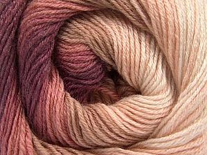 Fiber Content 70% Acrylic, 30% Merino Wool, Pink Shades, Maroon, Brand Ice Yarns, Yarn Thickness 2 Fine  Sport, Baby, fnt2-59770