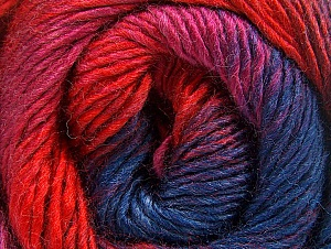 Fiber Content 50% Acrylic, 50% Wool, Red, Navy, Lilac, Brand Ice Yarns, Fuchsia, Yarn Thickness 2 Fine  Sport, Baby, fnt2-59786